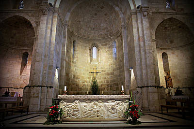 Jerusalem Photograph - Church Of St. Anne by Stephen Stookey