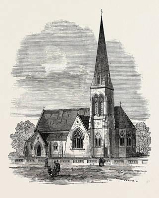 Kingston On Drawing - Church Of St. John The Evangelist, Kingston-on-thames by English School