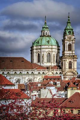 Bohemia Photograph - Church Of St Nicholas by Joan Carroll