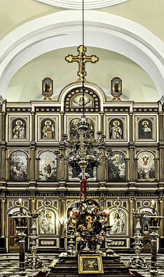 Photograph - Church Of St. Nicholas by Maria Coulson