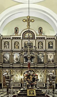 Church Of St. Nicholas Art Print
