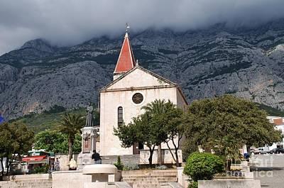 Photograph - Church Of St.mark Makarska by David Fowler