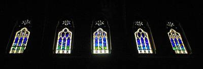 Photograph - Church Of The Covenant Stained Glass 2 by Michael Saunders