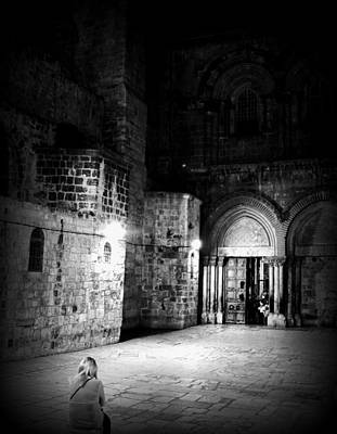 Church Of The Holy Sepulchre Art Print by Amr Miqdadi