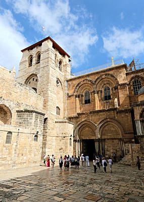 Sepulchre Photograph - Church Of The Holy Sepulchre by Stephen Stookey