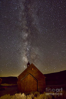 Photograph - Church Of The Milky Way 2 by Crystal Nederman