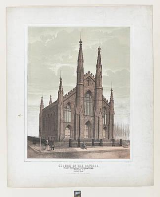 Church Of The Saviour First Unitarian Art Print by Ezra Bisbee