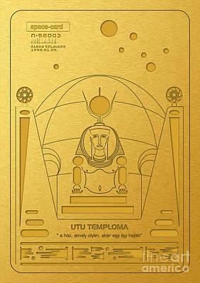Digital Art - Church Of Utu by Alexa Szlavics