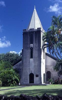 Photograph - Church On Maui 2 by Pat Knieff