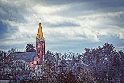 Photograph - Church On The Hill by Darlene Bell