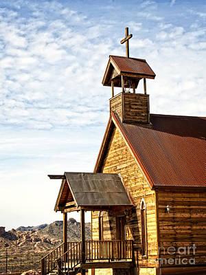 Church On The Mount Art Print