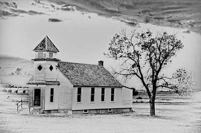 Church On The Plains Art Print by Marty Koch