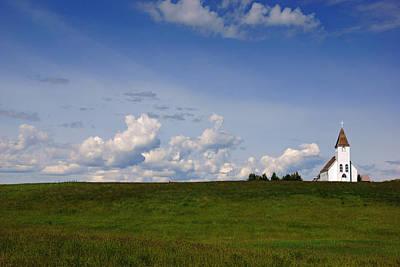 Photograph - Church On The Prairie No.2 by Daniel Woodrum