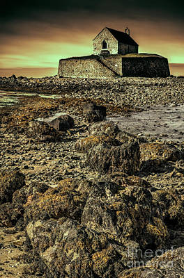Church On The Rock Art Print by Adrian Evans
