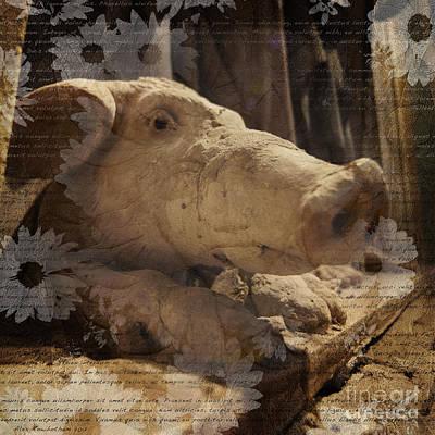 Photograph - Church Pig by Alex Rowbotham