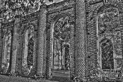 Photograph - Church Ruins by Dale Powell