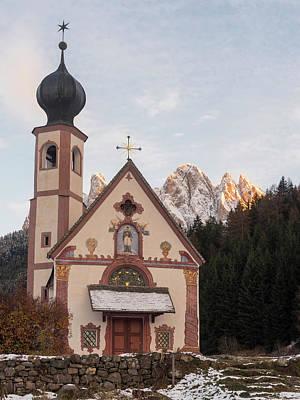 Church Sankt Johann In Ranui (st Art Print