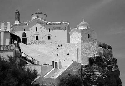Skopelos Photograph - The Church Of Panagia Tou Pyrgou by Clive Beake