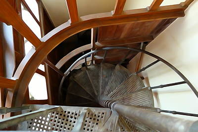 Photograph - Church Stairs by Charlie and Norma Brock