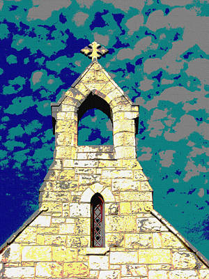 Photograph - Church Steeple 2 by Monique Montney