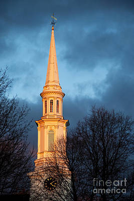 Photograph - Church Steeple by Brian Jannsen