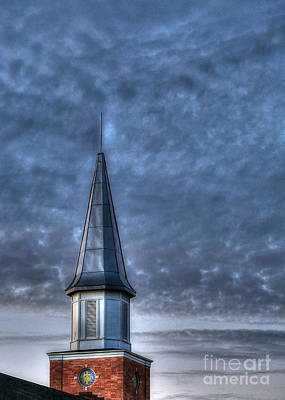 Photograph - Church Steeple by D Wallace