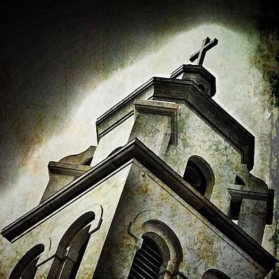 Photograph - Church Steeple by Kathleen Messmer