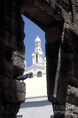 Photograph - Church Steeple Santo Domingo by John  Mitchell
