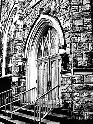 Photograph - Church Timeless Appeal by Janine Riley
