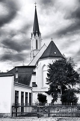 Photograph - Church Top In Vienna by John Rizzuto
