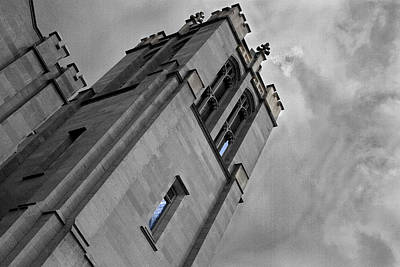 Photograph - Church Tower by David Yocum