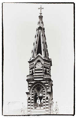 Photograph - Church Tower by John Rizzuto