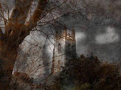 Church Tower Art Print by Nigel Watts