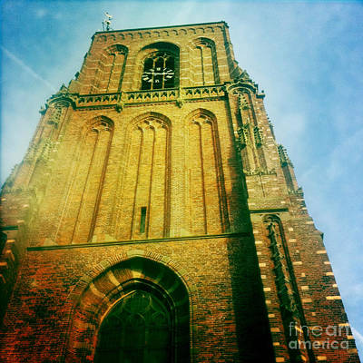Phoneography Photograph - Church Tower Of Ransdorp by Sara  Meijer