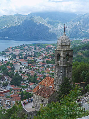 Photograph - Church View - Kotor - Montenegro by Phil Banks
