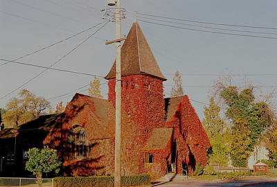 Photograph - Church Vines by Trent Mallett