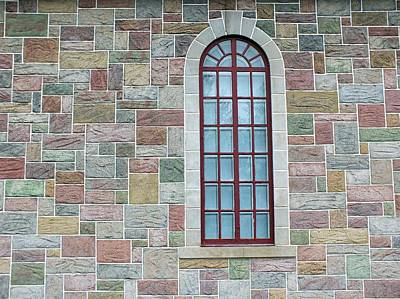 Photograph - Church Window by Gene Cyr