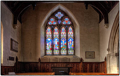 Farnham Photograph - Church Window by Graham Markham