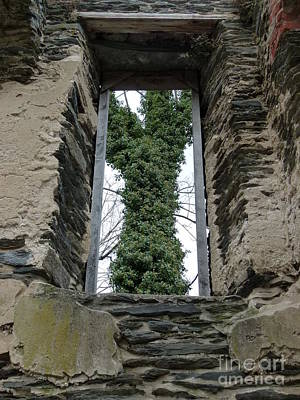Photograph - Church Window by Jane Ford