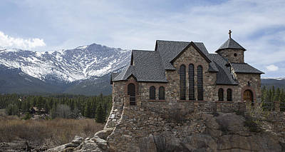 Photograph - Church With A View by Amber Kresge