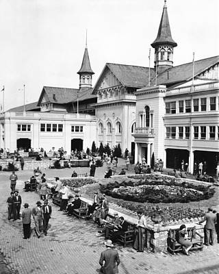 Racetrack Photograph - Churchill Downs Non-horse Activity  by Retro Images Archive