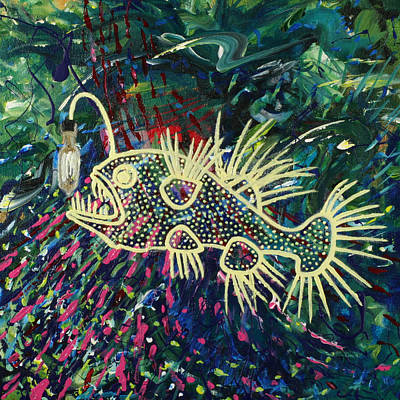 Painting - Churn by Julianne Hunter