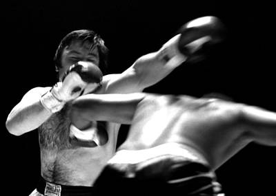 Photograph - Chuvalo Misses Haymaker by Robert  Rodvik