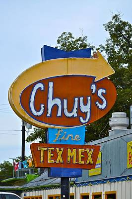 Photograph - Chuy's Tex Mex by Kristina Deane