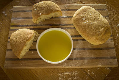 Photograph - Ciabatta Bread by Wayne Meyer