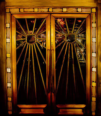 Cicada Club Doors Art Print