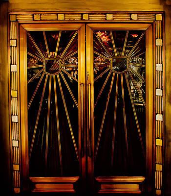 Cicada Club Doors Art Print by Joseph Hollingsworth