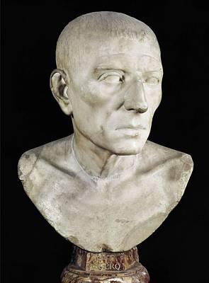 Cicero, Marcus Tullius 106-43 Bc. Roman Art Print