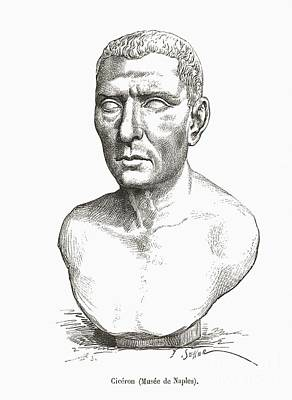 Cicero, Roman Philosopher Art Print by Middle Temple Library