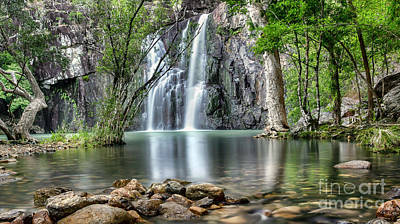Photograph - Cider Creek Falls by Shannon Rogers